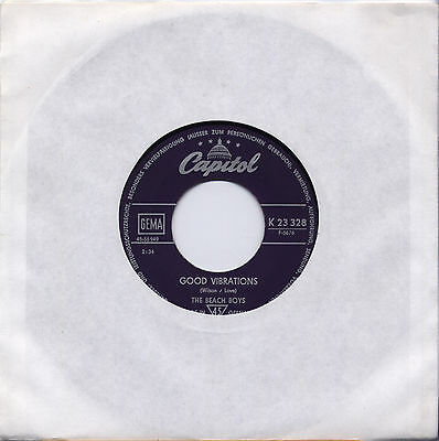 "Beach Boys - Good Vibrations 7"" Single 196?"