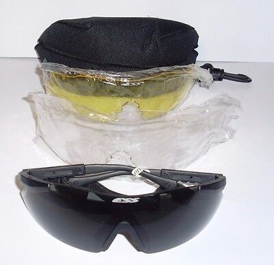 British Army Issue ESS ICE Ballistic / Tactical Safety Sun Glasses SK076 DD 01