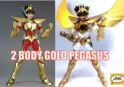 Great Toys Saint Seiya Pegasus Seiya Brozne V3 Gold Myth Cloth Ex 2 Body Figure
