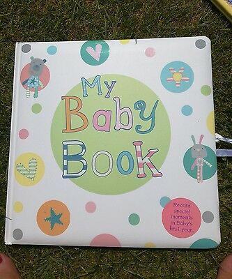 Baby Record book - BRAND NEW
