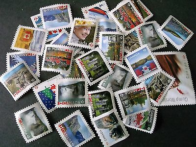 Canada ..100 stamp Mint  Permanent (P)   (no gum ) free shipping.