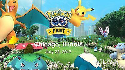 Pokémon Go Fest tickets!! SOLD OUT!!