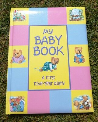 Baby 5 year Record book - BRAND NEW