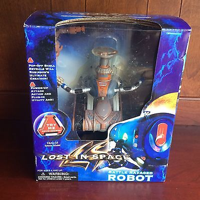 Battle Ravaged Robot Action Figure Lost in Space 1997 ~ SEALED NIB