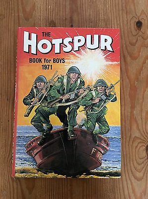The Hotspur Book For Boys Annual 1971