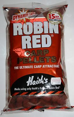 Dynamite Baits Robin Red Pellets 15mm 900g