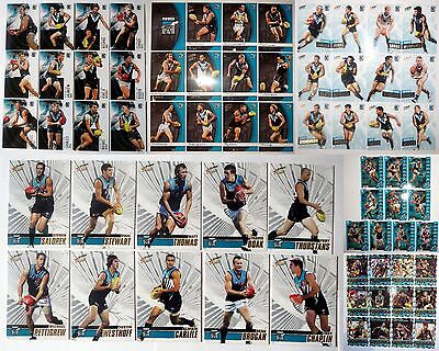 Bulk Lot of Port Adelaide Power AFL Football Cards - 6 Team Sets - Mint Conditio