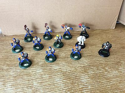 Blood Bowl - Plastic Human team, 3rd edition, mostly painted