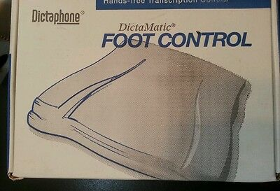 DictaMatic177557 3-Pedal Dictaphone Foot Control Switch for 1720, 2720, 3720