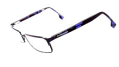 HUGO BOSS Black Full Rim Rectangular Used Glasses Eyeglasses Frames