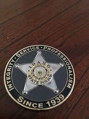 ***idaho State Police Challenge Coin***
