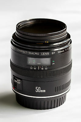 Canon EF 50mm f2.5 Compact Macro AF Lens for EOS