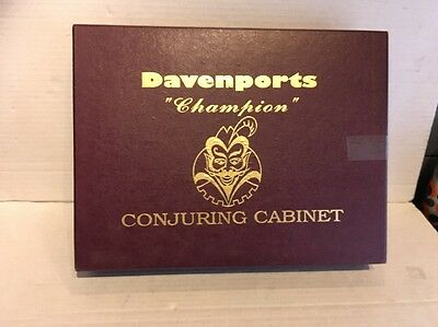 "Davenports ""champion"" Conjuring Cabinet, Brand New, Unused."
