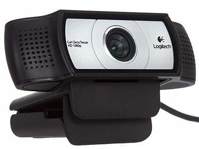 Logitech Webcam C930e Carl Zeiss 15MP 1080P FHD Camera DDP