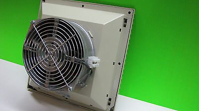 Rittal Enclosure Cooling Fan and Inlet air louvers - 10in.x10in. Compare at $250