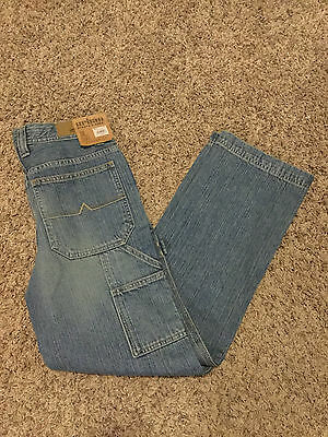 NWT Boy's URBAN PIPELINE Size 18 Jeans  Adjustable Waist, Relaxed 30x30