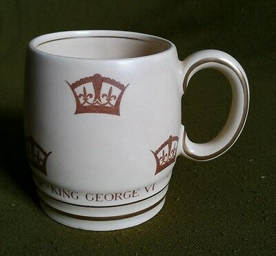 George VI Coronation Commemorative Mug