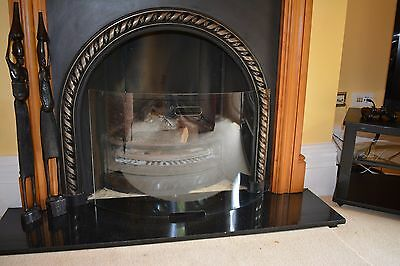 Top quality curved tempered glass fire guard /screen
