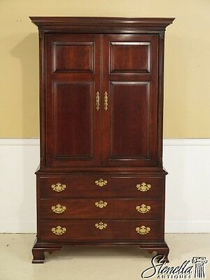 40497: STATTON Old Towne Cherry Bedroom TV Armoire