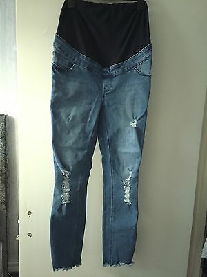 new look maternity jeans size 8