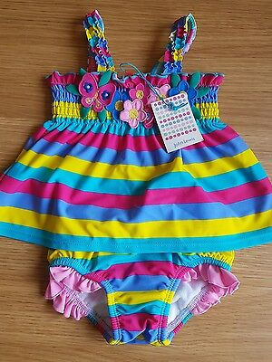 18 - 24m (1-2yrs) girls 2 piece swimsuit BNWT