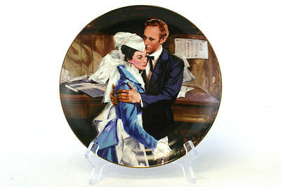 """Gone With the Wind A Question of Honor 1989 W.S. George 8.5"""" Plate #7"""