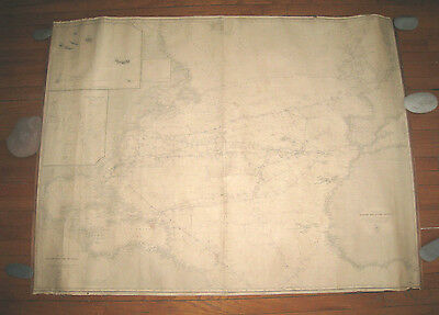 CHART #1 and #2 of the NORTH ATLANTIC OCEAN  1869 & 1872