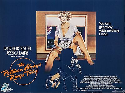 """The Postman always rings twice 16"""" x 12"""" Reproduction Movie Poster Photograph"""