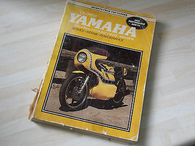 Clymer Yamaha RD 250 RD400 Two Stroke Twins 1965 - 78 Tuning Service Repair