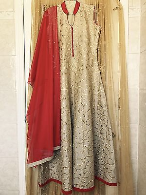 Indian Bollywood Anarkali Ethnic Suit Party Wear