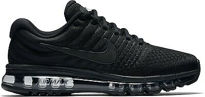Nike Air Max 2017 Black New Men's 100% Authentic Trainers