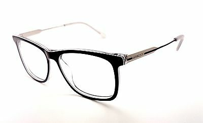 HUGO BOSS Full Rim Black Wayfarer Used Glasses Eyeglasses Frame