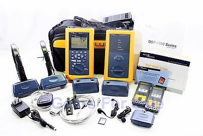 Fluke Networks DSP-4300 Cable Analyzer With Remote Excellent Condition