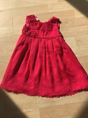 Monsoon Pink Dress Age 12-18months