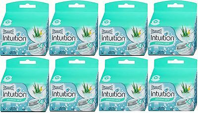 24x Wilkinson Intuition Naturals Sensitive Care Rasierklingen