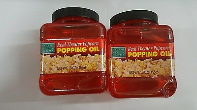 SEALED *2-Pack* Wabash Valley Farms - Real Theater Popcorn Popping Oil- 16 oz.