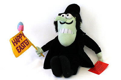 Happy Easter Dudley Do Right Snideley Whiplash 2000 Stuffed Toy Doll Toy Network