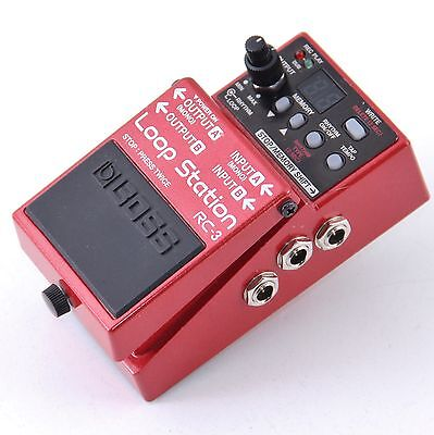 Boss RC-3 Loop Station Guitar Effects Pedal P-00934