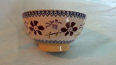 Mosse Pottery Clematis Bowl 5 inch So Pretty !