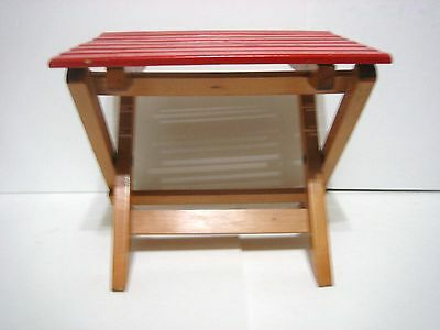 """Foldable Table Or Seat  9 3/4"""" High Very Sturdy"""