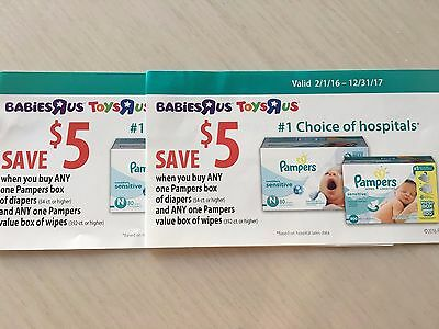 $10 Of Coupons For Pampers Products For Babies R Us