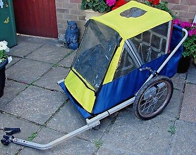 Bike Trailer / Push Bike Fold up Trailer, Spooky Joe, Please read the listing.