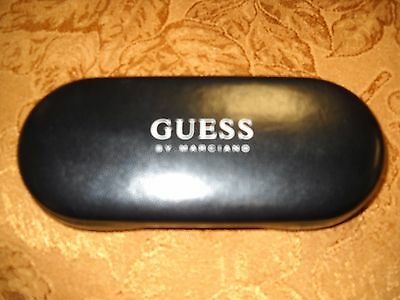 Guess Black Eyeglass Hard Case- Excellent Condition-Preowned-Good Deal.!!