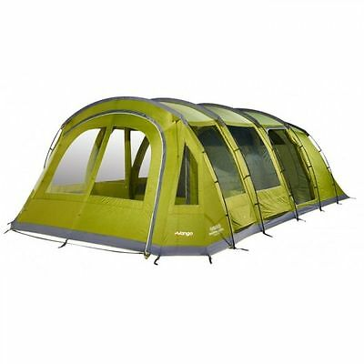 Vango Marna 600XL 6 Man Person Camping Tunnel Tent Herbal 2017
