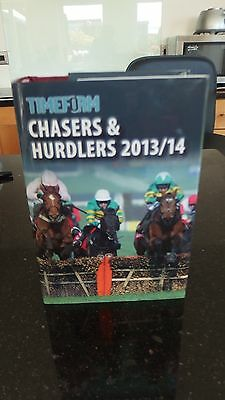 Timeform Chasers& Hurdlers  (hardback) 2013/14 mannual in mint condition