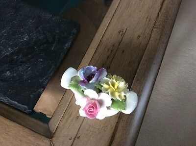 Royal Doulton flower basket ornament