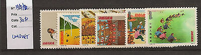 Timbres CHINE. Neufs luxe. 1917/22