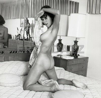 1960's Vogel Negative, gorgeous nude exotic pin-up girl Laura Angelos, t946635