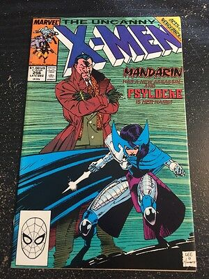 Uncanny X-men#256 Incredible Condition 9.0(1989)1st New Psylocke App,Jim Lee Art