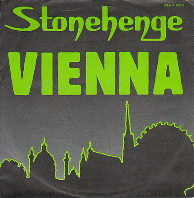 Stonhenge - Vienna - 45 RpM Vinyl Single - Austropop